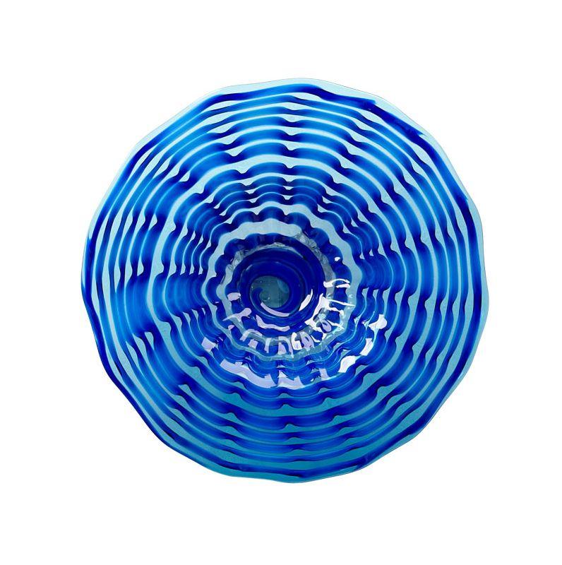 Cyan Design 04773 Small Aurora Plate Blue Home Decor Decorative Plates