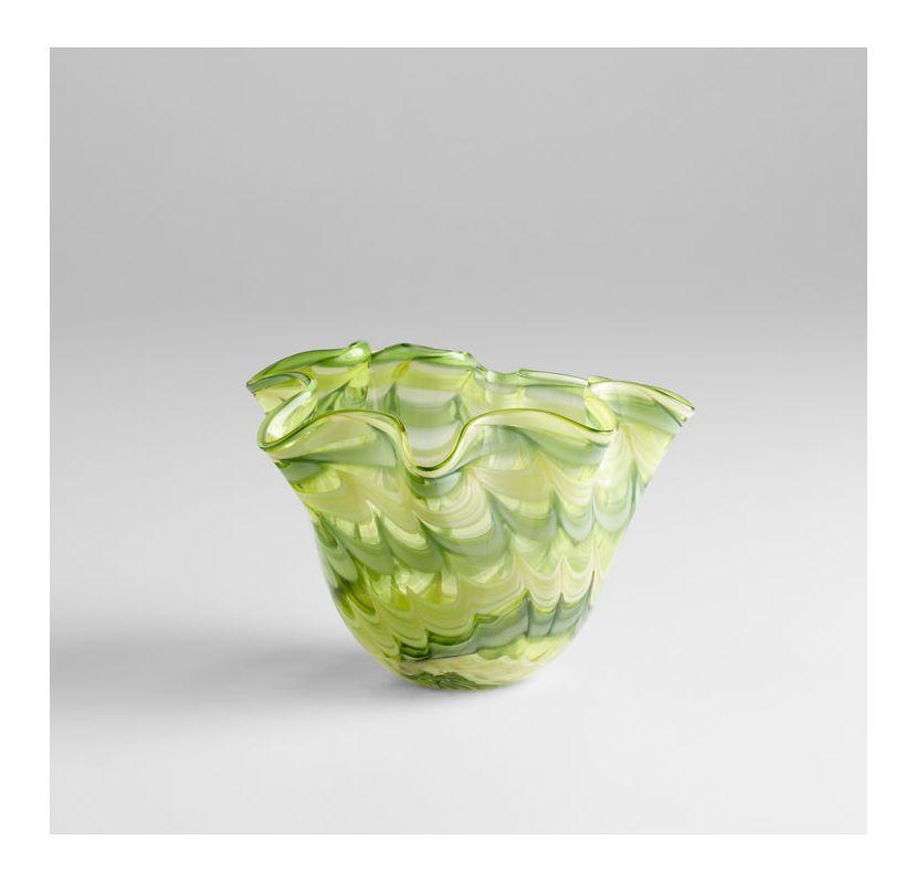 "Cyan Design 04776 8.75"" Small Francisco Bowl Green / Yellow Home Decor"