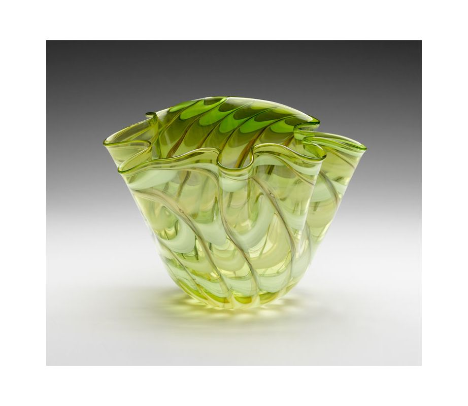 "Cyan Design 04778 15.5"" Large Francisco Bowl Green / Yellow Home Decor"