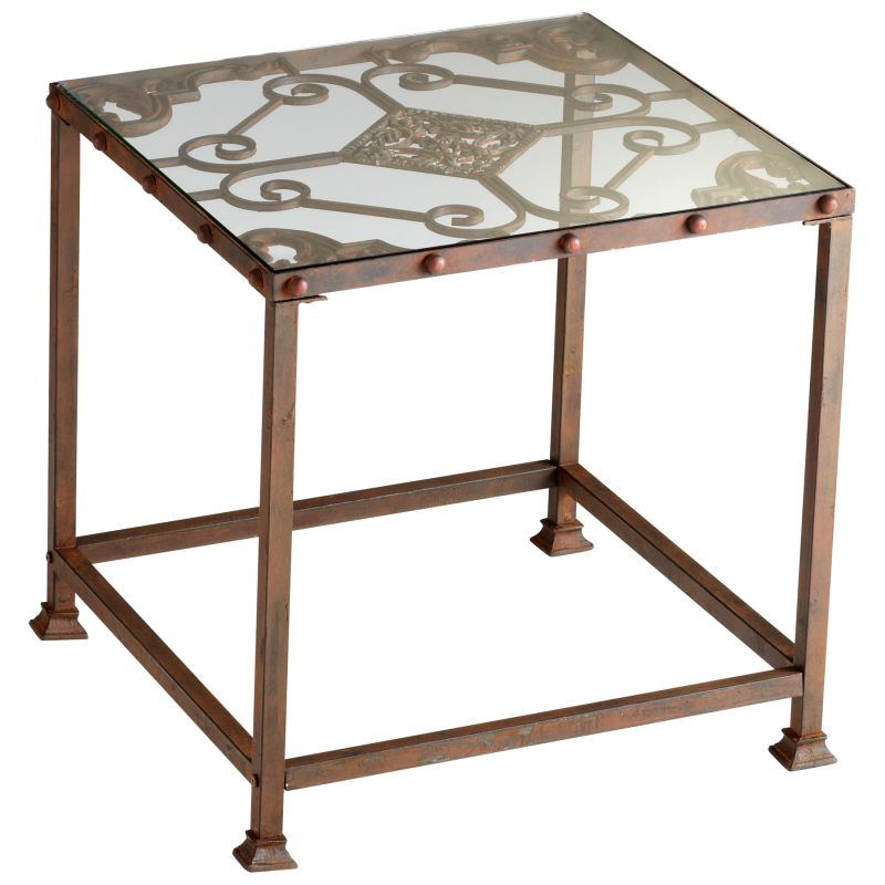 Cyan Design 04885 Alamosa Side Table Rust Furniture End Tables Sale $98.46 ITEM#: 2257539 MODEL# :4885 UPC#: 190808022899 :