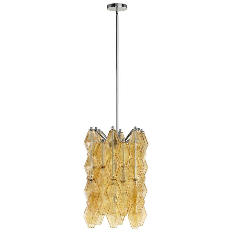 Cyan Design 05033 Boho 4 Light Full Size Pendant Amber Indoor Lighting