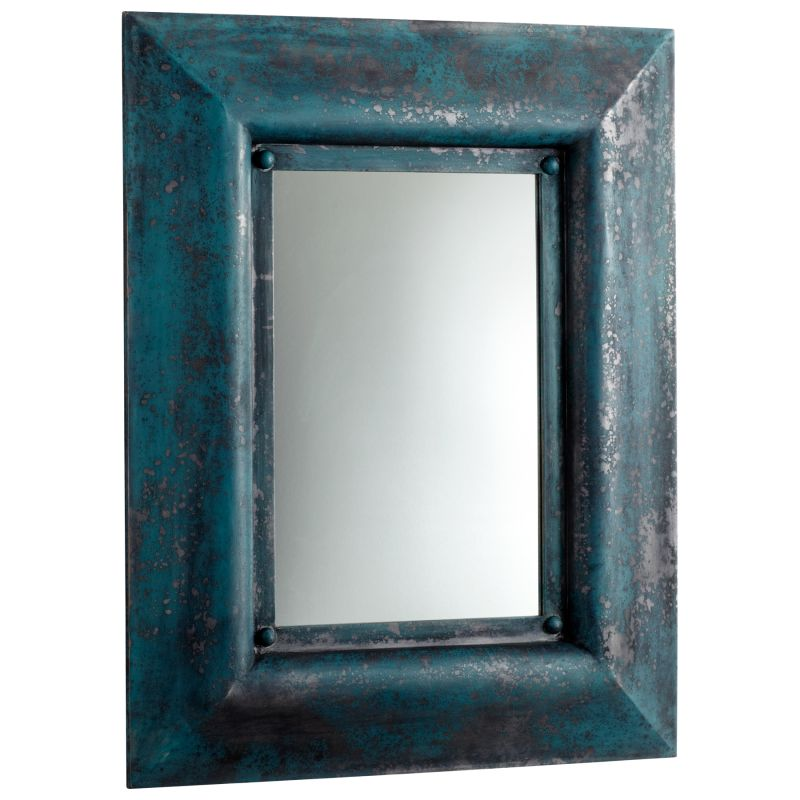Cyan Design 05101 Chinito Rectangular Mirror Ancient Blue Home Decor Sale $365.00 ITEM#: 2257758 MODEL# :5101 UPC#: 190808019684 :