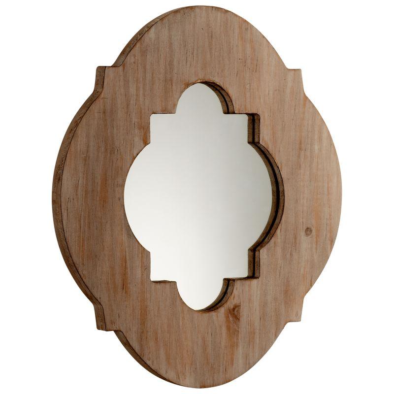 Cyan Design 05104 Larkin Specialty Mirror Washed Oak Home Decor