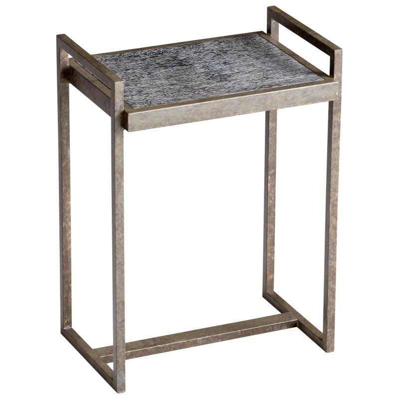 Cyan Design 05117 Padgett Accent Table Black Furniture End Tables