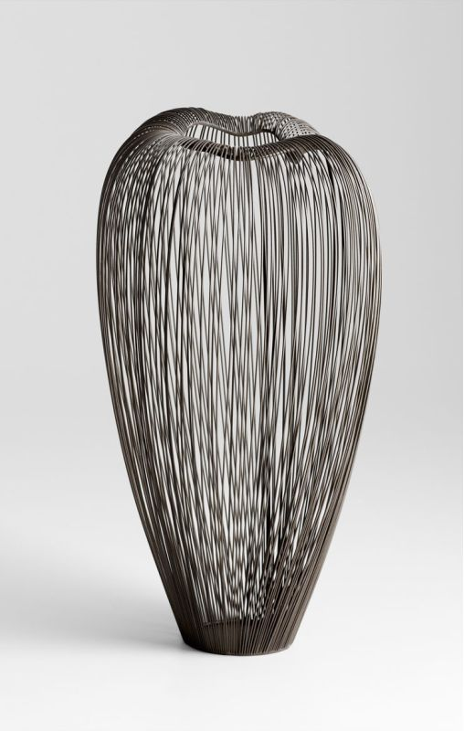 "Cyan Design 05129 20.25"" Tall Anemone Vase Graphite Home Decor Vases"