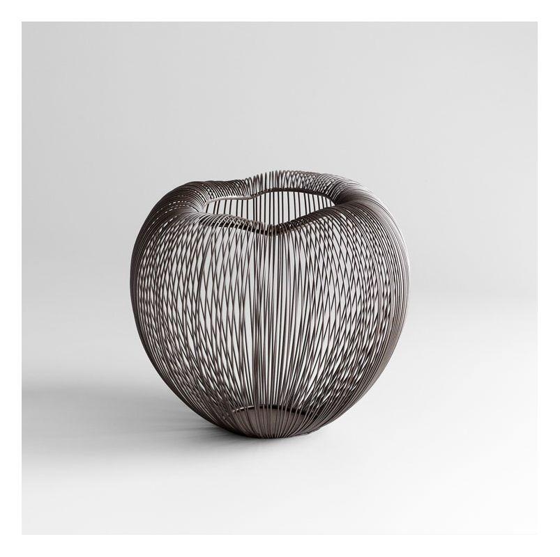 "Cyan Design 05132 9"" Small Anemone Vase Graphite Home Decor Vases"