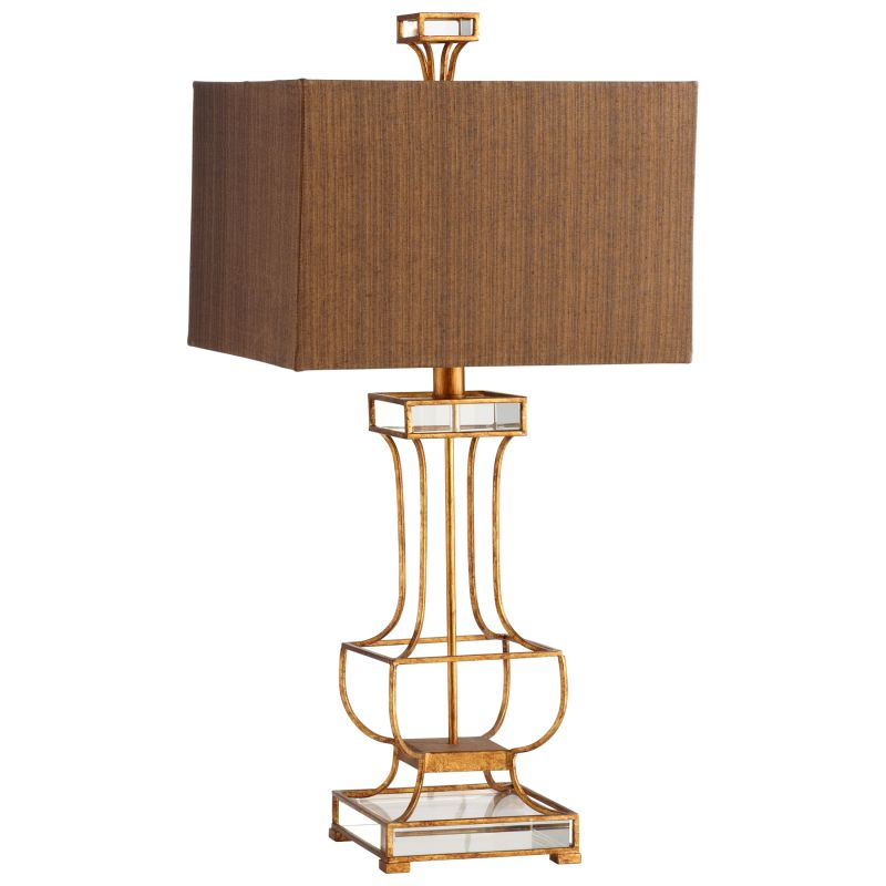 Cyan Design 05203 Pinkston 1 Light Table Lamp Gold Leaf Lamps Sale $597.50 ITEM#: 2257793 MODEL# :5203 UPC#: 190808020703 :