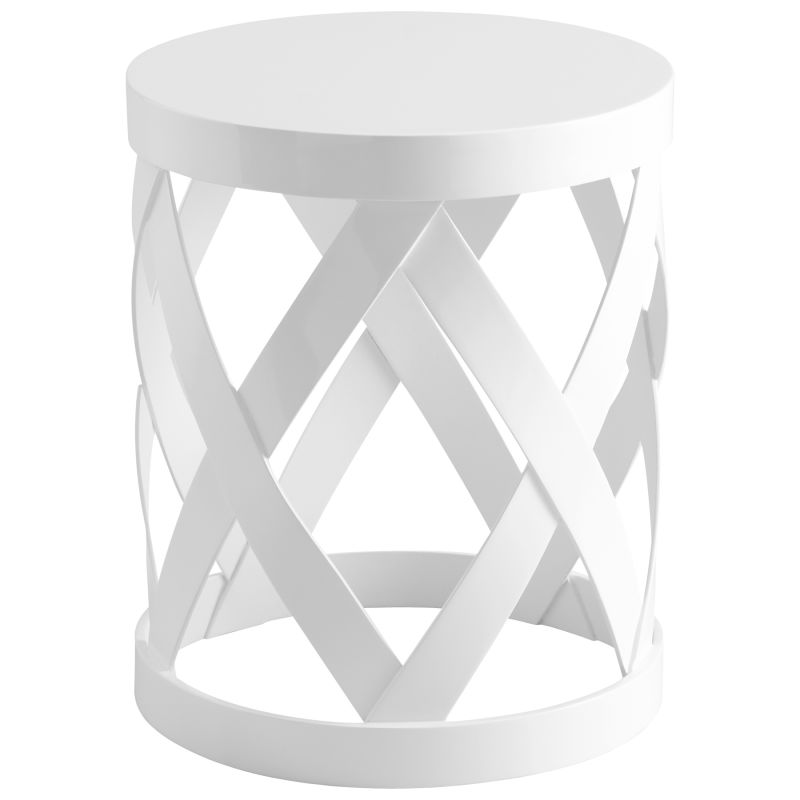 Cyan Design 05218 Warwick Accent Table White Furniture End Tables Sale $572.50 ITEM#: 2257807 MODEL# :5218 UPC#: 190808022004 :