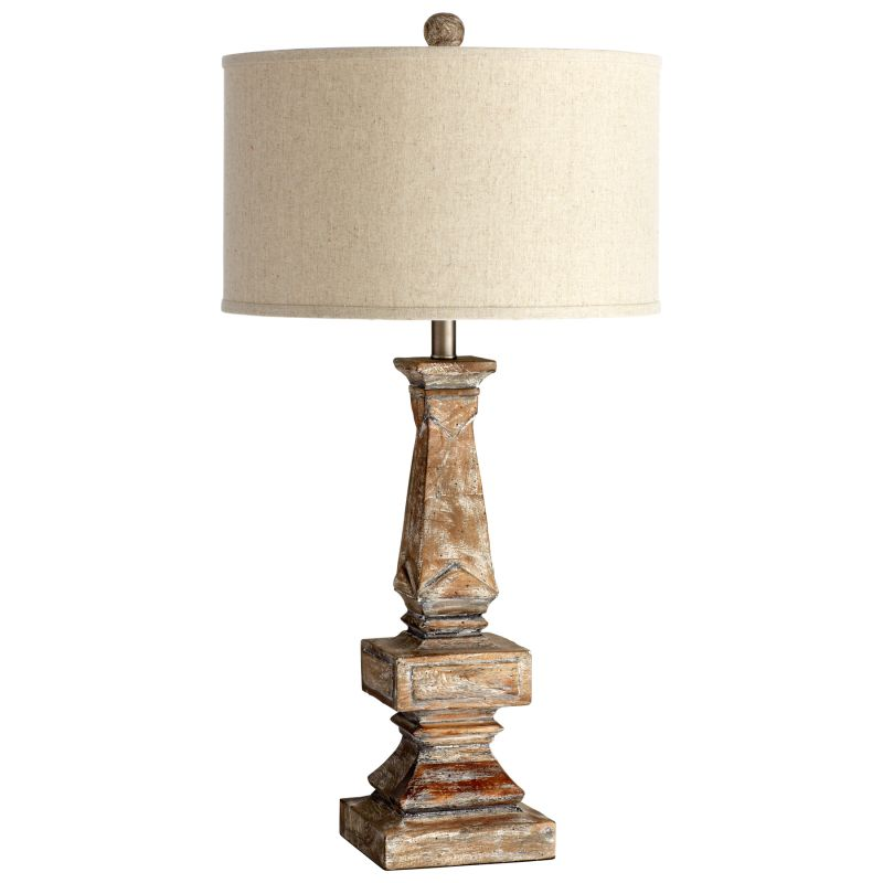 Cyan Design 05248 Tashi 1 Light Table Lamp Parsons White Lamps