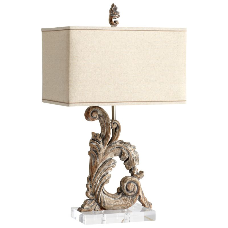 Cyan Design 05253 Posy 1 Light Table Lamp Limed Gracewood Lamps