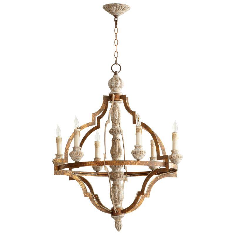 Cyan Design 05256 Bastille 6 Light 1 Tier Chandelier Sawyers White Sale $1412.50 ITEM#: 2257839 MODEL# :5256 UPC#: 190808016539 :