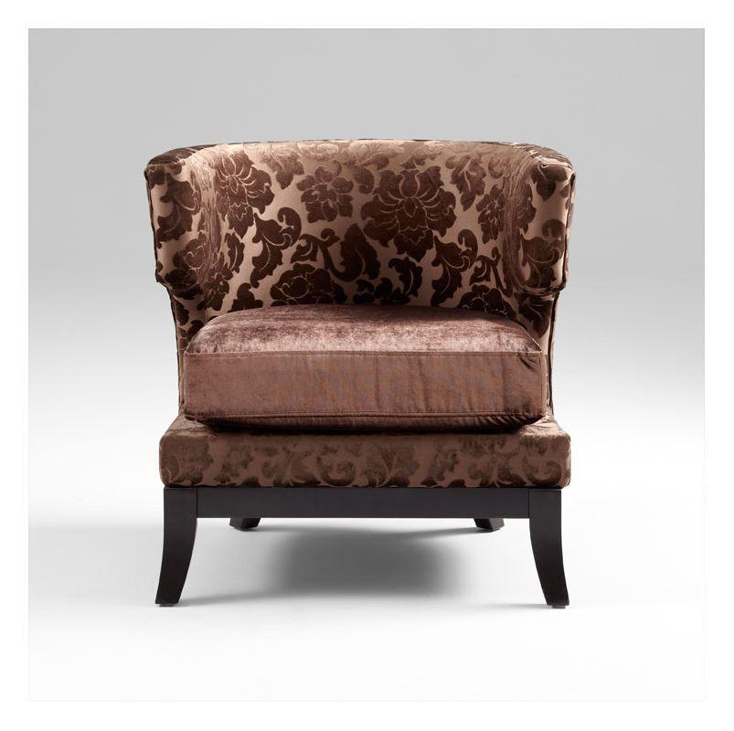 Cyan Design 05269 Mr. C. Truffles Chair Brown Furniture Arm Chairs