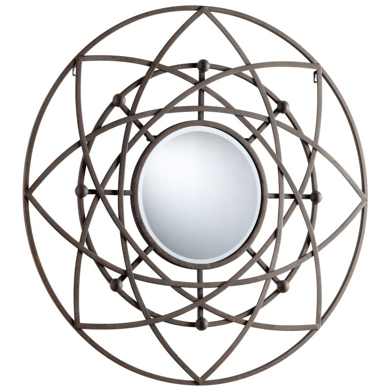 Cyan Design 05288 Robles Rounded Mirror Rustic Home Decor Lighting Sale $322.50 ITEM#: 2257862 MODEL# :5288 UPC#: 190808021120 :