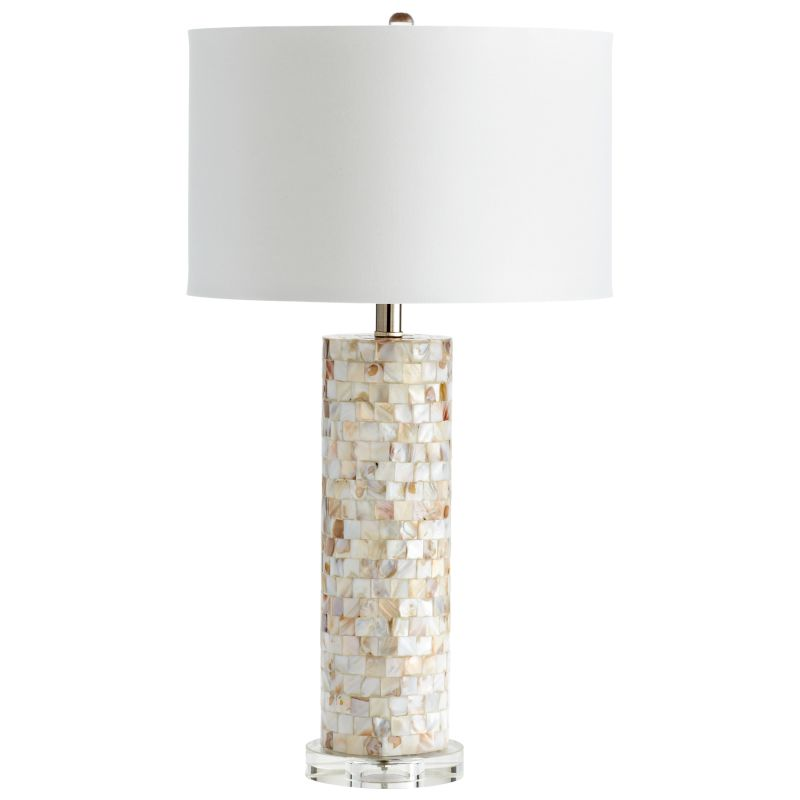 Cyan Design 05309 West Palm 1 Light Table Lamp Mother Of Pearl Lamps Sale $352.50 ITEM#: 2257874 MODEL# :5309 UPC#: 190808030245 :