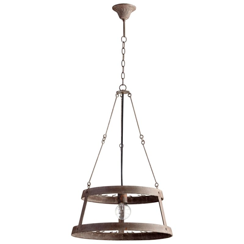 Cyan Design 05312 Double Winey 1 Light Full Size Pendant Rustic Indoor