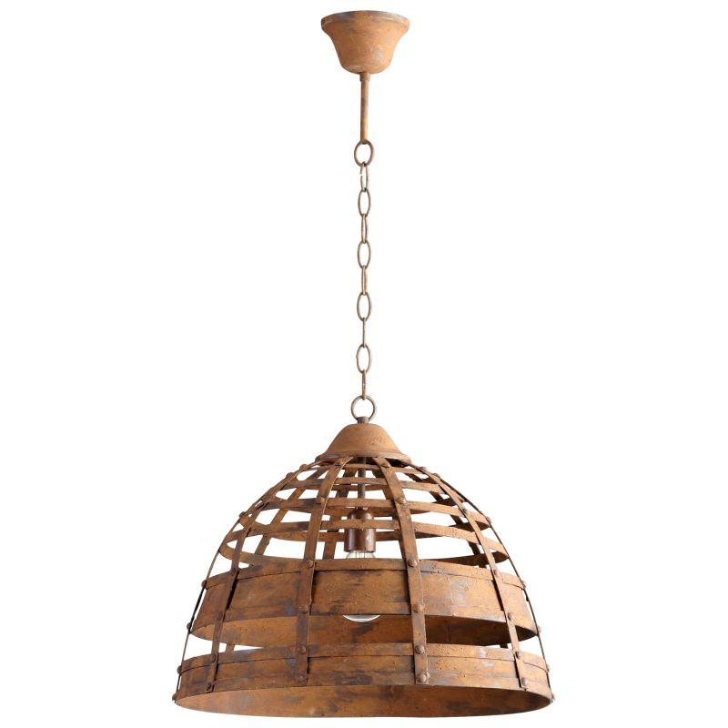 Cyan Design 05315 Palma 1 Light Full Size Pendant Rustic Indoor
