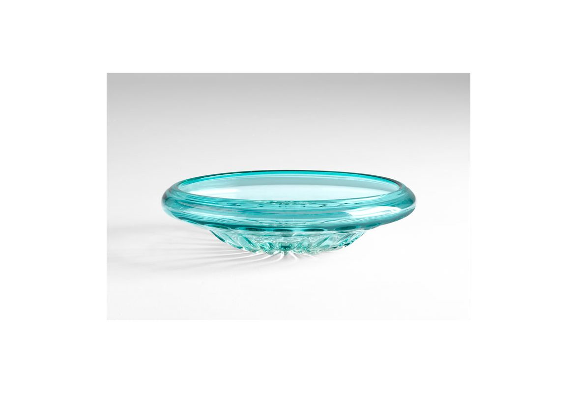 "Cyan Design 05369 5.5"" Decorative Bowl Blue Home Decor Decorative"