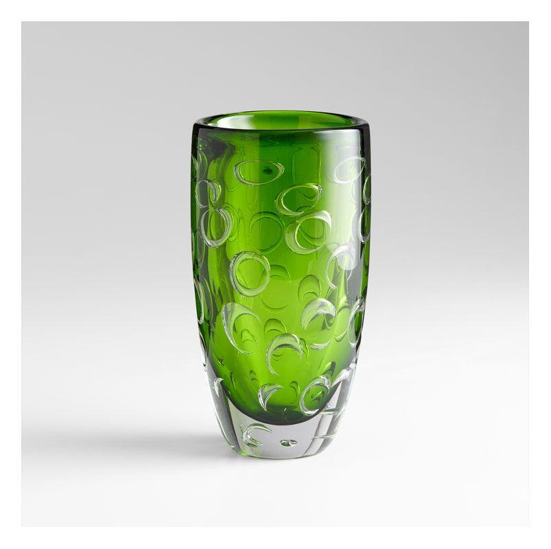 "Cyan Design 05372 11.75"" Home Accent Vase Emerald Green Home Decor"