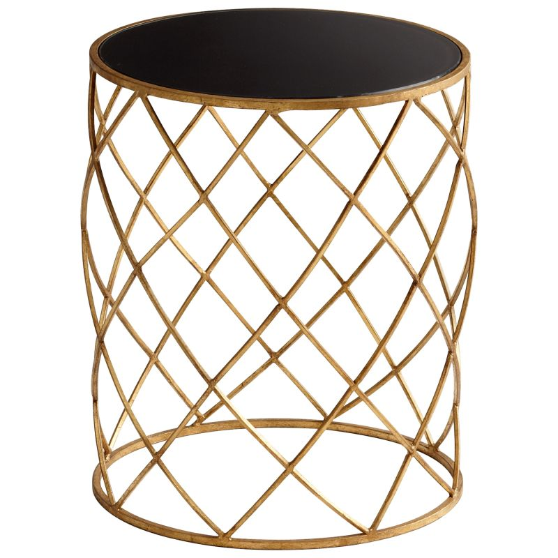 Cyan Design 05466 Wimbley Side Table Gold Furniture End Tables