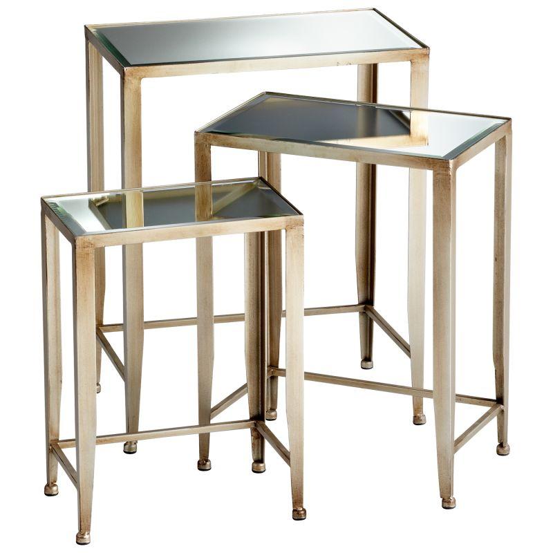 Cyan Design 05475 Harrow Nesting Tables Canyon Bronze Furniture
