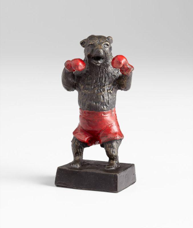 "Cyan Design 05541 6"" Bear Sculpture Old World / Red Home Decor Statues"