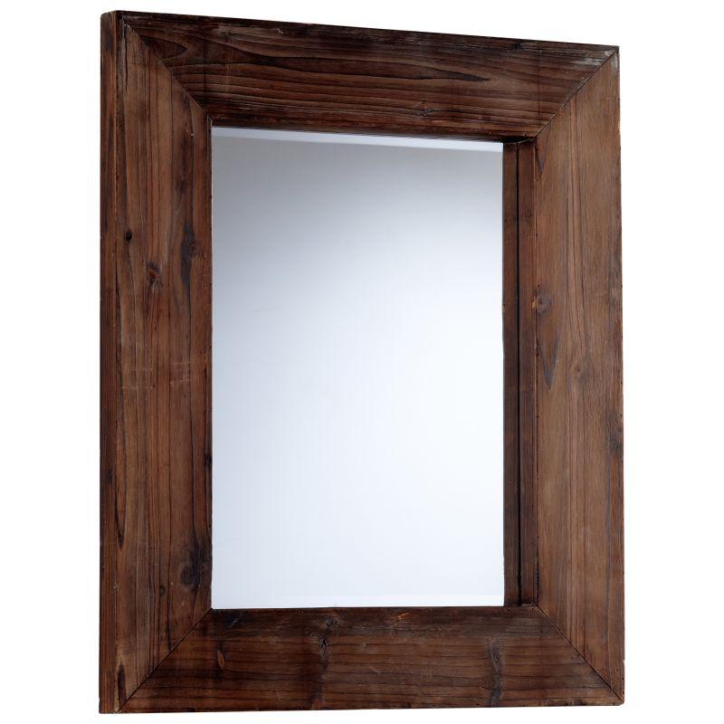 Cyan Design 05592 Ralston Rectangular Mirror Walnut Home Decor