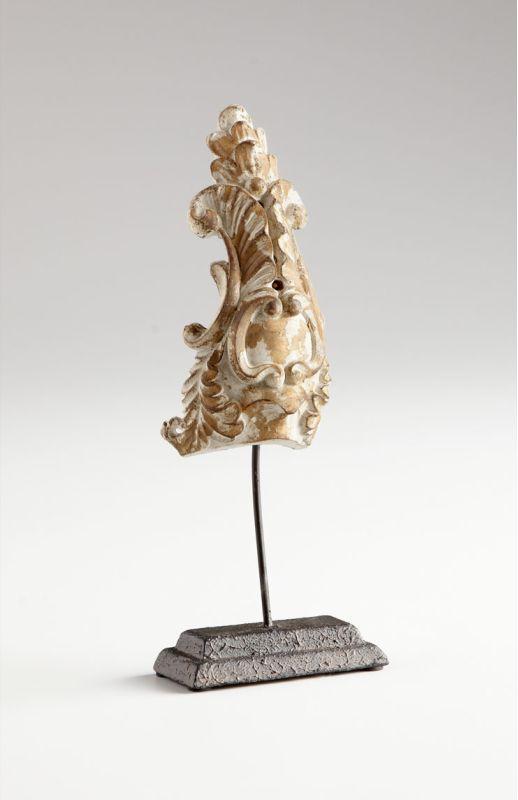 "Cyan Design 05599 10"" Gretna Sculpture Distressed Antique White Home"