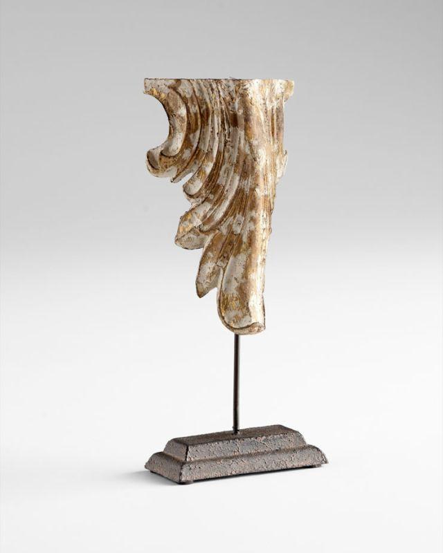 "Cyan Design 05606 9"" Calder Sculpture Distressed Antique White Home"