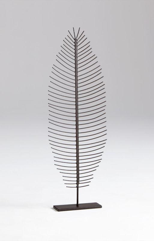 """Cyan Design 05626 32.25"""" Large Skeleton Leaf Graphite Home Decor"""