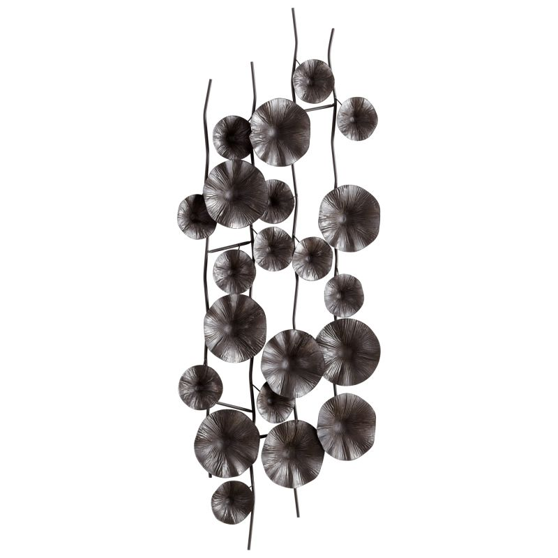 Cyan Design 05632 Poppy Wall Decor Graphite Home Decor Wall Decor