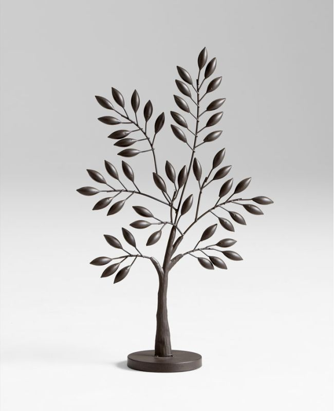 "Cyan Design 05637 22.25"" Small Sapling Tree Sculpture Graphite Home"