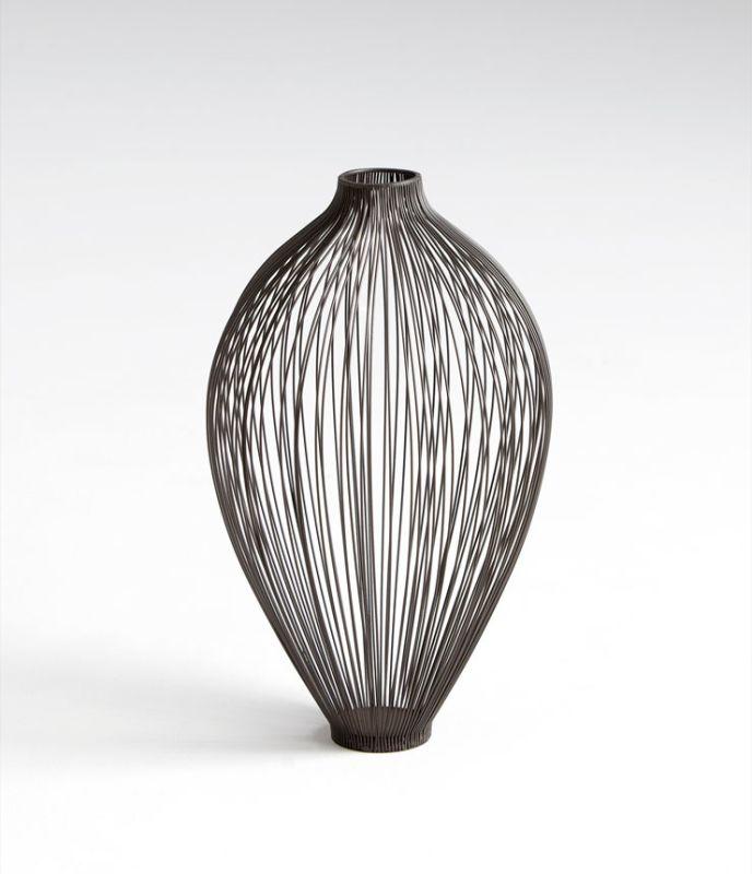 "Cyan Design 05645 16"" Small Celestine Vase Graphite Home Decor Vases"