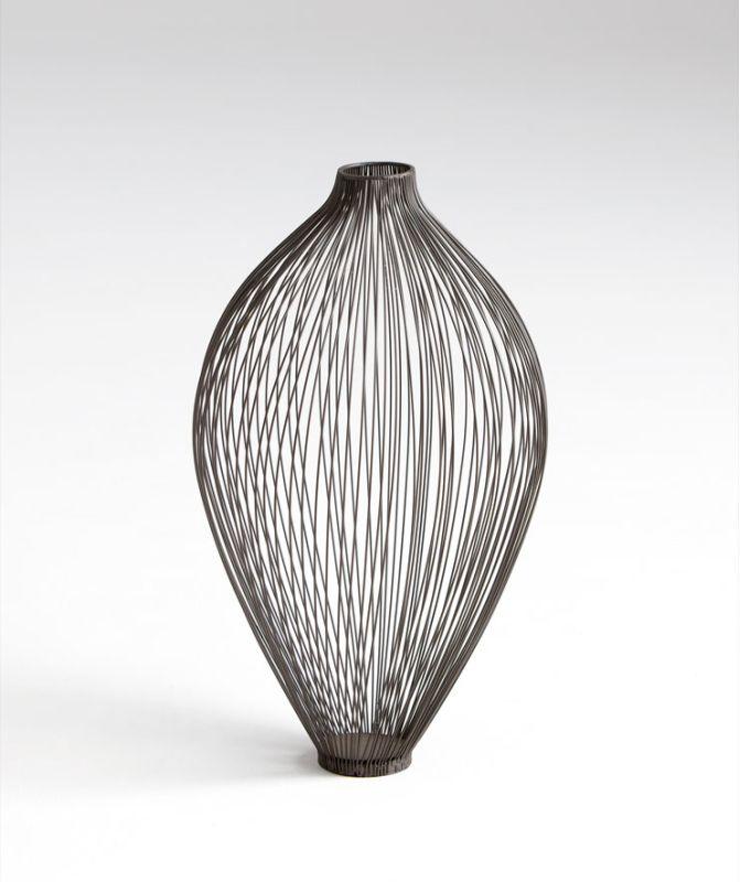 "Cyan Design 05646 18.5"" Medium Celestine Vase Graphite Home Decor"
