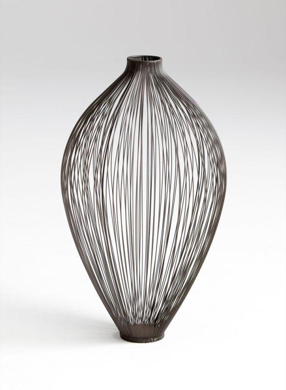 "Cyan Design 05647 22.75"" Large Celestine Vase Graphite Home Decor"
