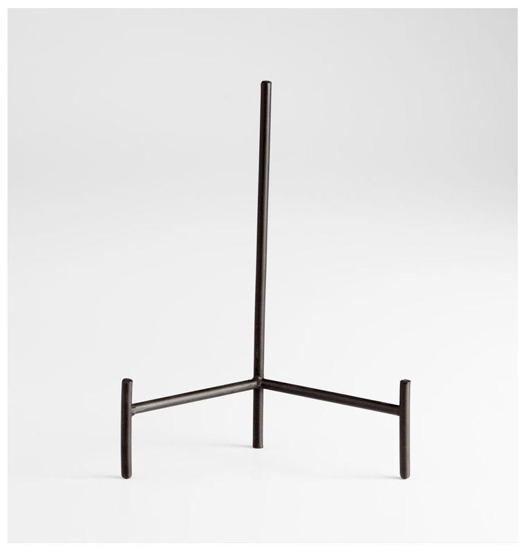 "Cyan Design 05648 14.25"" Aster Plate Rack Graphite Home Decor"