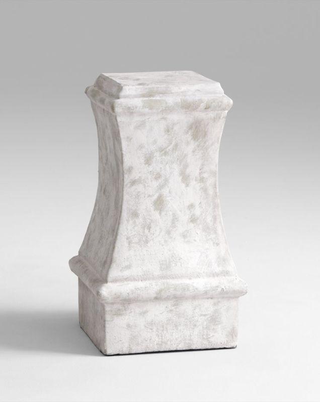 "Cyan Design 05686 13.5"" Small Dexter Pedestal Sandstone Home Decor"