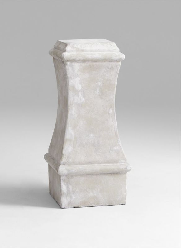 "Cyan Design 05687 30"" Large Dexter Pedestal Sandstone Home Decor"