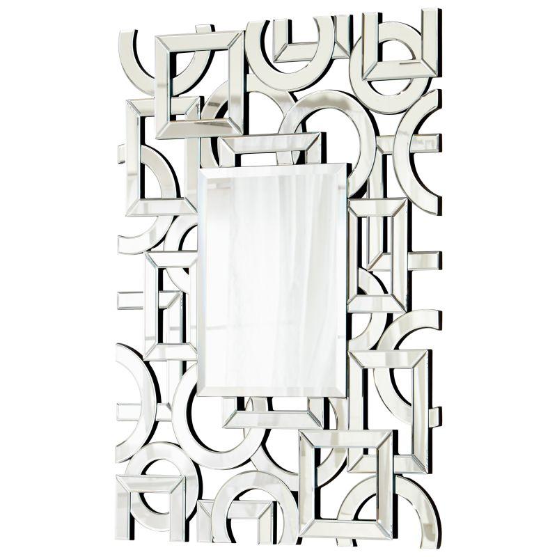 Cyan Design 05706 Volos Rectangular Mirror Clear Home Decor Lighting