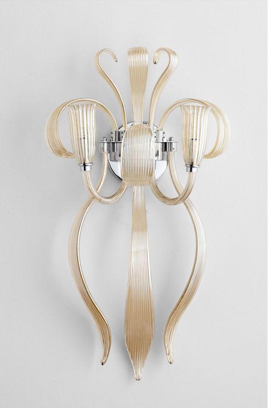 Cyan Design 06225 Juliana 2 Light Wall Sconce Cognac Indoor Lighting