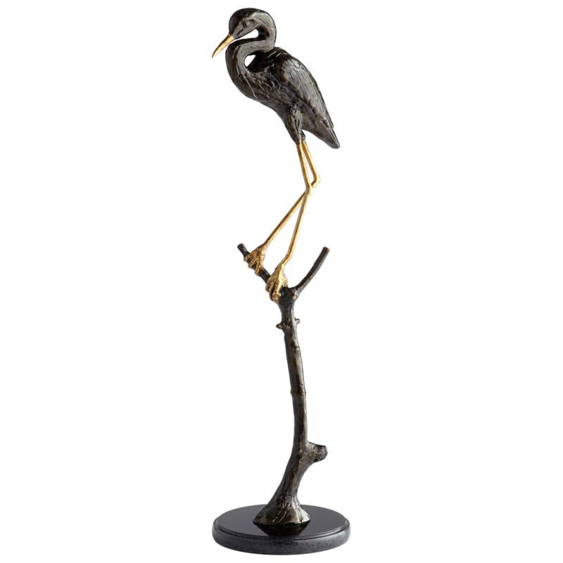 "Cyan Design 08835 Avian 31"" Tall Iron Perched Bird Coastal Figurine"