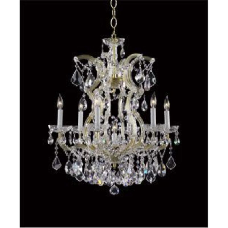 "Cyan Design 650-7 27.5"" Seven Lamp Chandelier from the Maria Theresa"