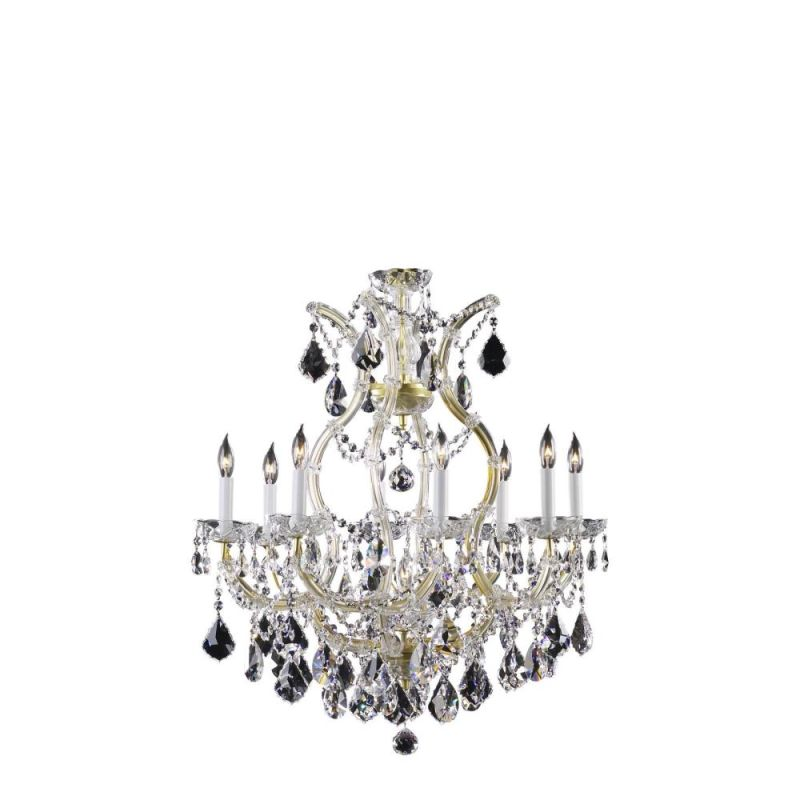 "Cyan Design 650-9 30.5"" Nine Lamp Chandelier from the Maria Theresa"