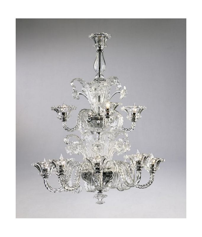 "Cyan Design 6826-12 43.25"" Twelve Lamp Chandelier from the La Scala"