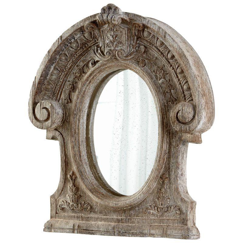 Cyan Design Inglewood Mirror 46 x 38.5 Inglewood Arched Ceramic Frame