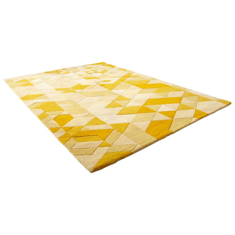 Cyan Design Facets Gold Rug Gold Facets Polyester Rug Made in India 7