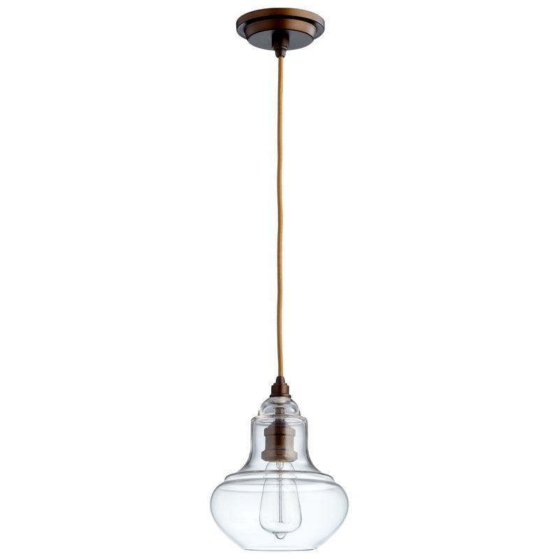 Cyan Design Camille Pendant II Camille 1 Light Pendant with Silver