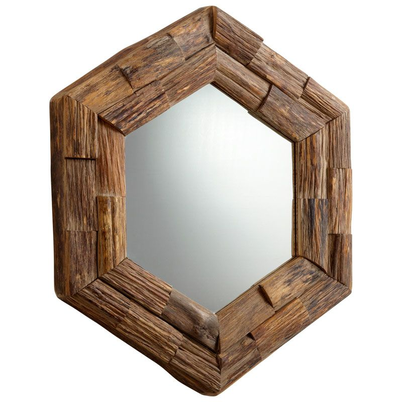 Cyan Design Hexagon Frontier Mirror 36.5 x 32 Hexagon Frontier