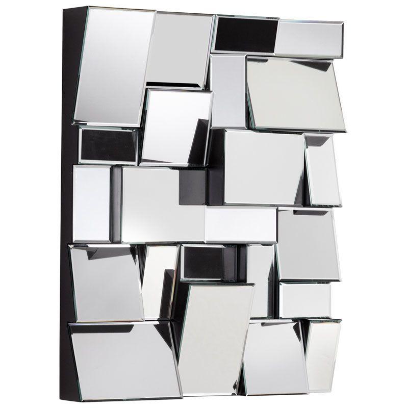 Cyan Design Kings Piece Mirror #2 31 x 25 Kings Piece Rectangular Wood