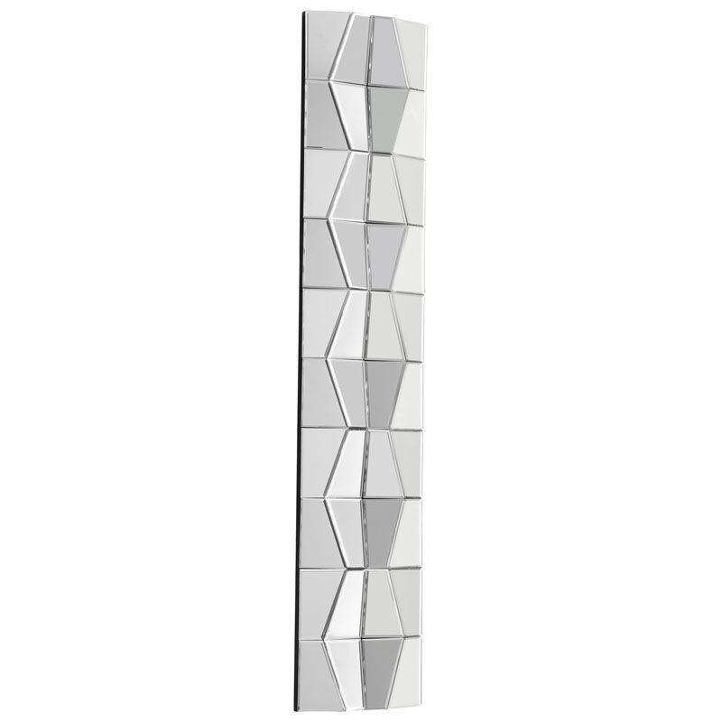 Cyan Design Jester Mirror 59 x 12 Jester Rectangular Wood Frame Mirror