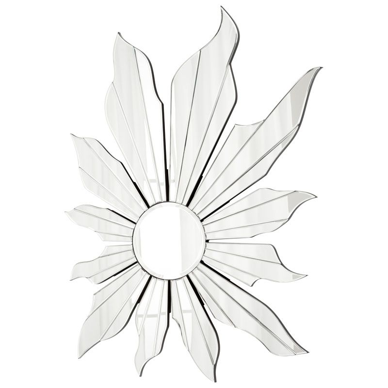 Cyan Design Lively Flower Mirror 49 x 36 Lively Flower Specialty Wood